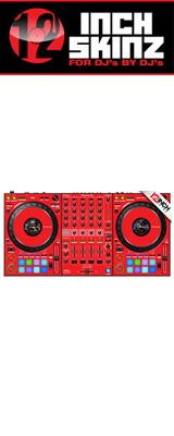 12inch SKINZ / Pioneer DDJ-1000SRT SKINZ (Red) 【DDJ-1000SRT用スキン】