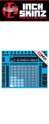 12inch SKINZ / Ableton PUSH2 SKINZ (LITE BLUE) 【PUSH2用スキン】