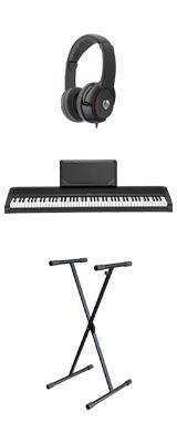 【X型スタンドセット】 Korg(コルグ) / B2N (ブラック) DIGITAL PIANO デジタルピアノ  (※代引き不可) 1大特典セット