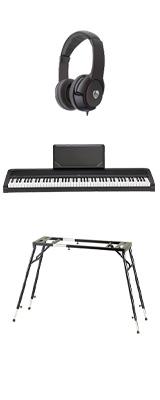 【4つ足スタンドセット】 Korg(コルグ) / B2N (ブラック) DIGITAL PIANO デジタルピアノ  (※代引き不可) 1大特典セット