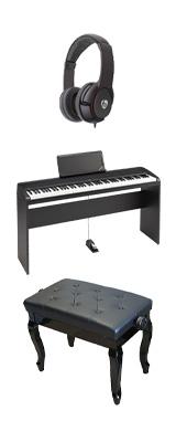 【専用スタンド&猫足ベンチセット】 Korg(コルグ) / B2N (ブラック) DIGITAL PIANO デジタルピアノ  (※代引き不可) 1大特典セット