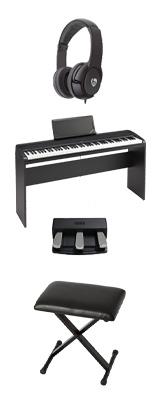 【専用スタンド&3本ペダル&折り畳みイスセット】 Korg(コルグ) / B2N (ブラック) DIGITAL PIANO デジタルピアノ  (※代引き不可) 1大特典セット
