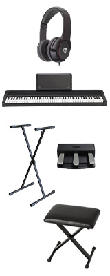 【X型スタンド&3本ペダル&折り畳みイスセット】 Korg(コルグ) / B2N (ブラック) DIGITAL PIANO デジタルピアノ  (※代引き不可) 1大特典セット
