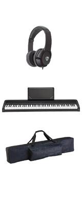 【純正バッグセット】 Korg(コルグ) / B2N (ブラック) DIGITAL PIANO デジタルピアノ (※代引き不可) 1大特典セット
