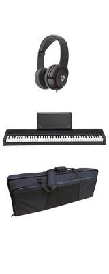 【撥水バッグセット】 Korg(コルグ) / B2N (ブラック) DIGITAL PIANO デジタルピアノ  (※代引き不可) 1大特典セット