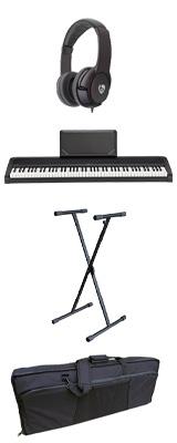 【撥水バッグ&X型スタンドセット】 Korg(コルグ) / B2N (ブラック) DIGITAL PIANO デジタルピアノ  (※代引き不可) 1大特典セット
