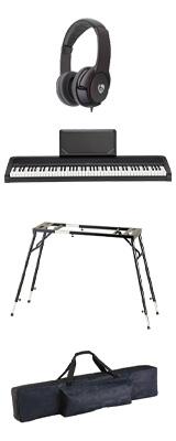 【純正バッグ&4つ足スタンドセット】 Korg(コルグ) / B2N (ブラック) DIGITAL PIANO デジタルピアノ  (※代引き不可) 1大特典セット