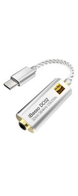 iBasso Audio(アイバッソ オーディオ) / DC02 スマートホンとの接続に最適 3.5mmステレオ端子仕様 USB TYPE-C向け小型 USB DAC