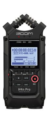 Zoom(ズーム) / H4n Pro Handy Recorder (All Black) リニアPCM/ICハンディレコーダー 1大特典セット