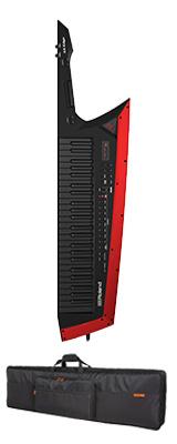 【専用バッグセット】 Roland(ローランド) / AX-EDGE-B  / CB-BAX ブラック 49鍵 - ショルダー・キーボード - 1大特典セット
