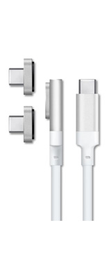 MAGABOLT / MAGX USB-C MAGSAFE MAGNETIC CABLE (1.5m / WHITE) USB-Cケーブル 【アダプター2個付属】