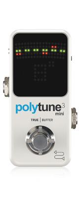 TC Electronic(ティーシーエレクトロニック) / PolyTune 3 Mini -ポリフォニックチューナー-