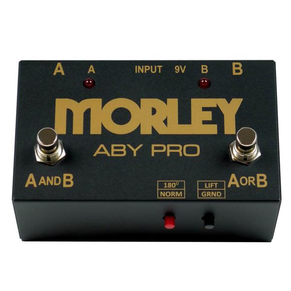Morley(モーリー)/ABY PRO(エービーワイ プロ) -  1イン/2アウト -  ラインセレクター -