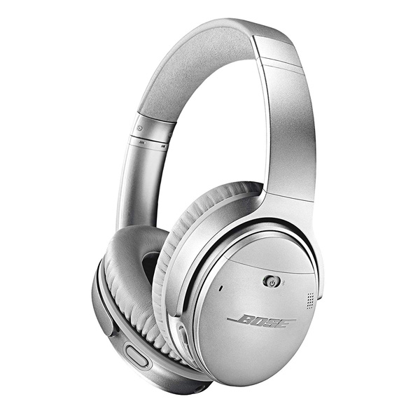 Bose(ボーズ) / QuietComfort 35 wireless II (Silver) ノイズキャンセリング機能搭載 Bluetooth対応 ワイヤレスヘッドホン 1大特典セット
