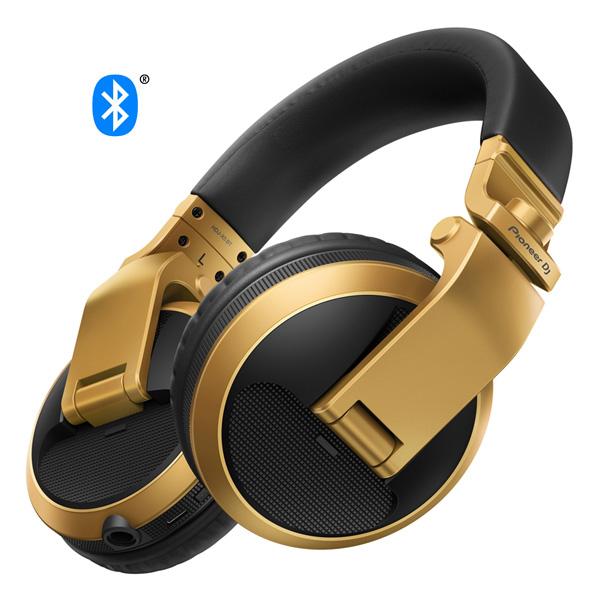 Pioneer(パイオニア) / HDJ-X5BT-N (ゴールド) -  DJ用ヘッドホン -