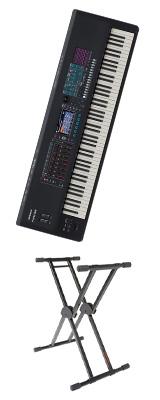 【X型スタンドセット】Roland(ローランド) / FANTOM-8 - シンセサイザー - 1大特典セット