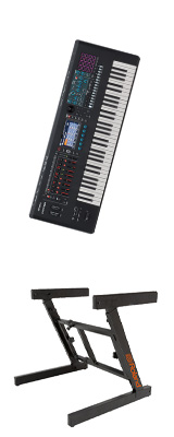 【Z型スタンドセット】Roland(ローランド) / FANTOM-6 - シンセサイザー - 1大特典セット