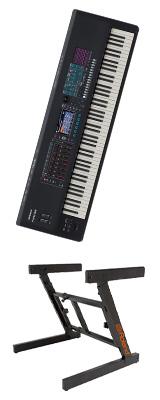 【Z型スタンドセット】Roland(ローランド) / FANTOM-8 - シンセサイザー - 1大特典セット