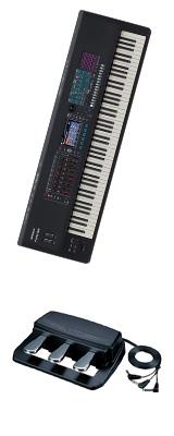 【3本ペダルセット】Roland(ローランド) / FANTOM-8 - シンセサイザー - 1大特典セット
