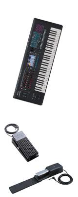 【2種のペダルセット】Roland(ローランド) / FANTOM-6 - シンセサイザー - 1大特典セット