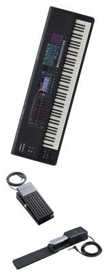 【2種のペダルセット】Roland(ローランド) / FANTOM-8 - シンセサイザー - 1大特典セット