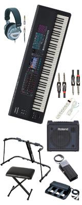 【純正パーフェクトセット】Roland(ローランド) / FANTOM-8 - シンセサイザー - 2大特典セット