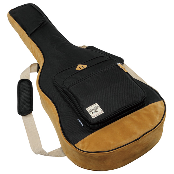 Ibanez(アイバニーズ) / IAB541L-BK (左利き用 ブラック)【アコースティックギター用ギグバッグ】- Ibanez Powerpad DESIGNER COLLECTION -