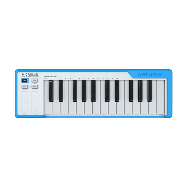 Arturia(アートリア) / MICROLAB BL (ブルー) - MIDIキーボード・コントローラー -