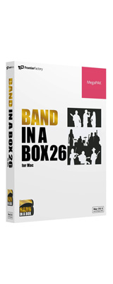 E-frontier(イーフロンティア) / Band-in-a-Box 26 for Mac MegaPAK - 自動作曲 / 伴奏作成ソフト -