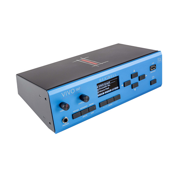 ■ご予約受付■ Dexibell(デキシーベル) / VIVO SX7 - 音源モジュール -【次回11月予定】 1大特典セット