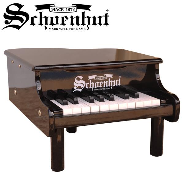 Schoenhut(シェーンハット) / Mini Baby Grand Piano (Black) 18鍵盤 トイピアノ