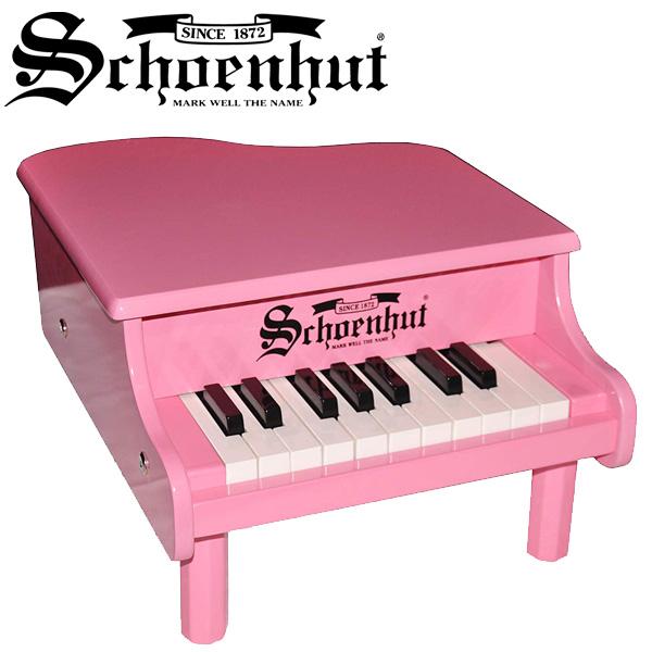 Schoenhut(シェーンハット) / Mini Baby Grand Piano (Pink) 18鍵盤 トイピアノ