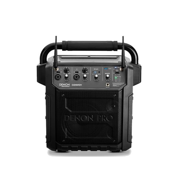 Denon Professional(デノンプロフェッショナル) / CONVOY / ワイヤレスマイク2本付き - ポータブルPAシステム - 【 Bluetooth対応 充電池内蔵 】12月5日発売