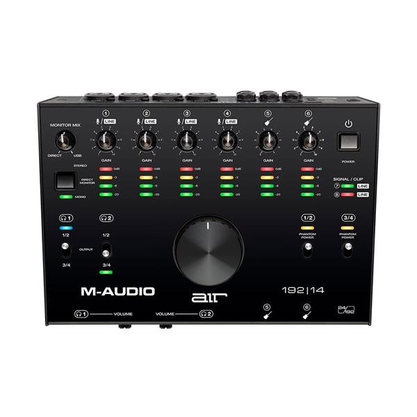 M-Audio(エム・オーディオ) / AIR 192|14 / USBオーディオインターフェース 【11月14日発売】
