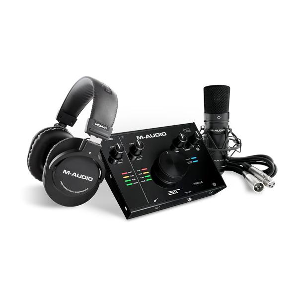 M-Audio(エム・オーディオ) / AIR 192 | 4 Vocal Studio Pro / USBオーディオインターフェース  / コンデンサーマイク付き 【11月14日発売】