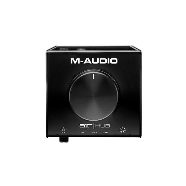 M-Audio(エム・オーディオ) / AIR Hub / USBハブ搭載モニタリングインターフェイス 【11月14日発売】