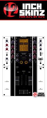 12inch SKINZ / Pioneer DJM-909 SKINZ (WHITE/BLACK)  【DJM-909用スキン】