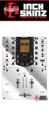 12inch SKINZ / Pioneer DJM-909 SKINZ Metallics (MIRROR SILVER)  【DJM-909用スキン】