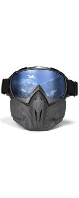 FACE MASK フェイスマスク (CARBON FIBER) 【冬の野外、ウィンタースポーツ向け 防風】