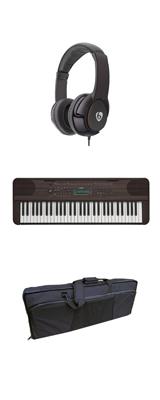 【撥水バッグセット】YAMAHA(ヤマハ) / PSR-E360DW (ダークウォルナット調) 61鍵盤 キーボード / ピアノ   1大特典セット