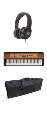 【撥水バッグセット】YAMAHA(ヤマハ) / PSR-E360MA (メイプル調) 61鍵盤 キーボード / ピアノ  1大特典セット