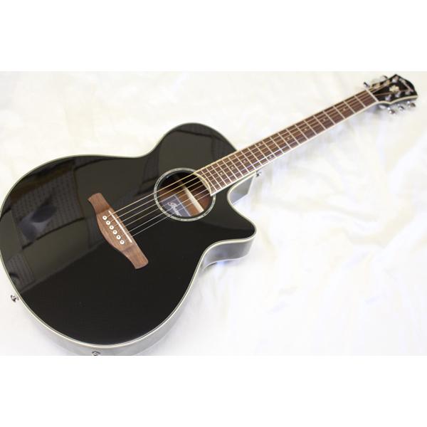 アウトレット特価 Ibanez(アイバニーズ) / AEG10II BK エレクトリックアコースティックギター
