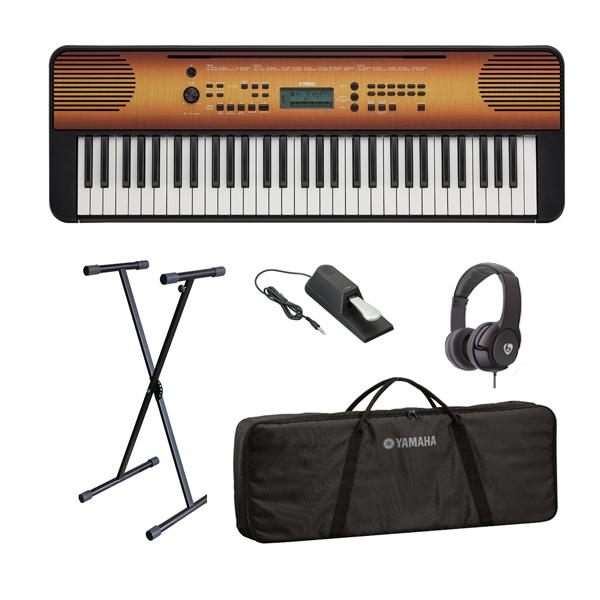 【オススメセット】YAMAHA(ヤマハ) / PSR-E360MA (メイプル調) 61鍵盤 キーボード / ピアノ   1大特典セット