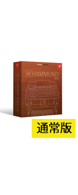 IK Multimedia(アイケーマルチメディア) / Hammond B-3X 通常版 【初回限定版】 オルガン音源 バーチャルインストゥルメント