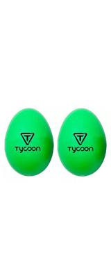 TYCOON(タイクーン) / Egg Shakers  TE-G(グリーン) - エッグ・シェイカー 2個入り -