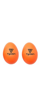 TYCOON(タイクーン) / Egg Shakers  TE-O(オレンジ) - エッグ・シェイカー 2個入り -