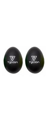 TYCOON(タイクーン) / Egg Shakers  TE-BK(ブラック) - エッグ・シェイカー 2個入り -
