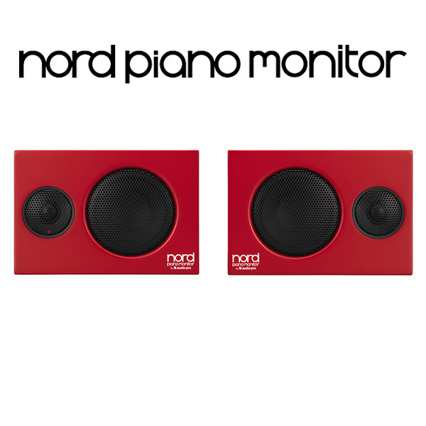 Clavia(クラヴィア) / Nord Piano Monitor - モニタースピーカー -
