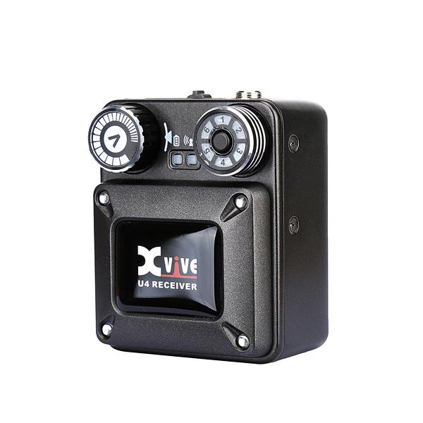 Xvive(エックスバイブ) / XV-U4R / インイヤーモニター用ワイヤレスシステム /レシーバーのみ【12月中旬発売】