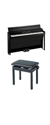 ■ご予約受付■ 【高低自在イスセット】 Korg(コルグ) / G1B AIR-BK / ブラック / 88鍵盤 デジタルピアノ / 電子ピアノ 2大特典セット